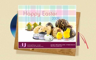 E-Card Design - Happy Easter 2009